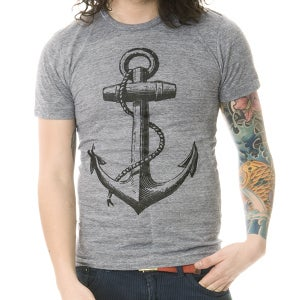 Image of Anchor Grey Unisex