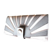 Image of Rising Sun (Grey) Limited! Checkbook / Pocketbook Wallet