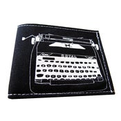Image of Typewriter ) Bifold Wallet