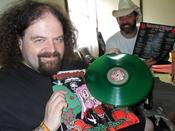 Image of LIMITED EDITION ! Venomous Concept - Poisoned Apple LP Green Clear Vinyl with Exclusive extra track