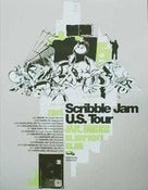 Image of SCRIBBLE JAM TOUR POSTER 2005