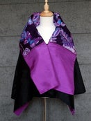 Image of Reversible Silk Jacket made from Hanae Mori Scarf . J28