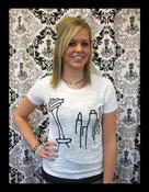 Image of Ladies Skyline Tee