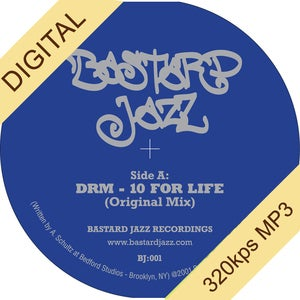 Image of DJ DRM - 10 For Life 7&quot; (Vinyl Sold Out - Digital Only)