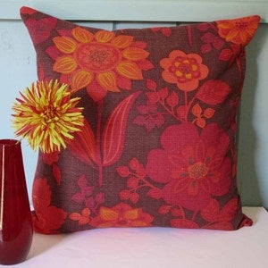 Image of Vintage Floral Cushion - Made to Order