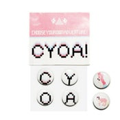 Image of CYOA BUTTON PACK (LIMITED EDITION) // DESIGNER: KATE MOROSS