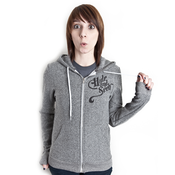 Image of Owl Salt & Pepper Hoodie