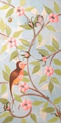 "Image of Chinoiserie Lady 12"" x 24"""