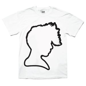 Image of LA ROUX WHITE T-SHIRT