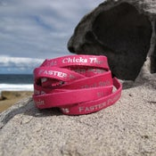Image of Short Leather bracelet - pink