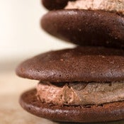 Image of double chocolate whoopie pie