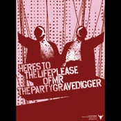Image of Please Mr. Gravedigger<br>LP Album Poster