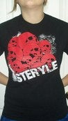 Image of Steryle Red Skulls T-Shirt