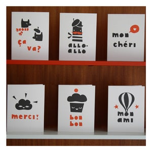 Image of PARIS GIFT CARDS by Darling Clementine