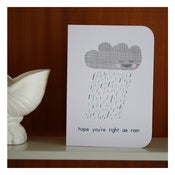 Image of RIGHT AS RAIN by Katydid