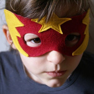 "Image of Masque Super-Héros ""FLAMME ETOILEE"""