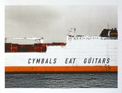 Image of Cymbals Eat Guitars Chicago 2010 poster