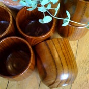 Image of Keyaki Wood Tea Cup