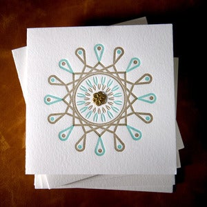 Image of Pinwheel : Teal