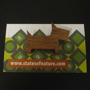 Image of Timber Scotty Brooch
