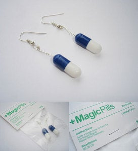 Image of Magic Pills Blue/White
