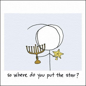 Image of so where do you put the star?