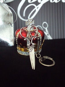 Image of Scissors Key Chain/Ring