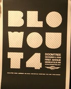 Image of Doomtree Blowout 4 -Screen Printed Poster