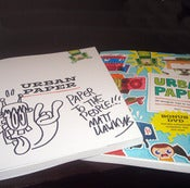 Image of Urban Paper signed by Matt Hawkins