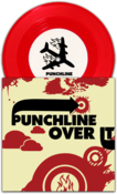 "Image of PUNCHLINE / OVER IT<br><i>Split</i><br>7"" (vinyl) [ltd. 2000]"