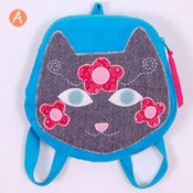 Image of backpack - kitty