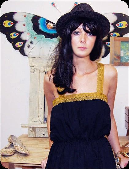 pretty please dear — snooer loser- cotton crochet dress