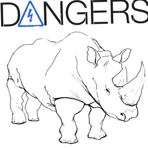 "Image of DANGERS ""ANGER"" LP VIT010 Repress White Vinyl"