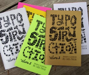 Image of Typostruction Zine