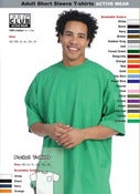 Image of ADULT WHOLESALE SHORT SLEEVE (COMFORT) Sizes SM to XL (per. Dozen)