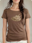 Image of Organic Women's Short Sleeve Tee-Machine in Bark