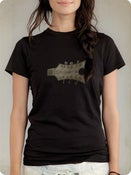 Image of Organic Women's Short Sleeve Tee-Headstock in Black