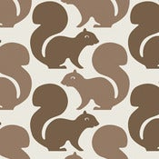Image of squirrels wallpaper - by the sheet