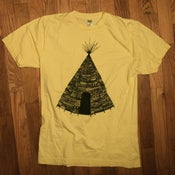 Image of Tipi tee yellow