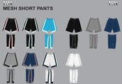 Image of PRO CLUB WHOLESALE MESH SHORT PANTS 4x (per. 3 piece pack)