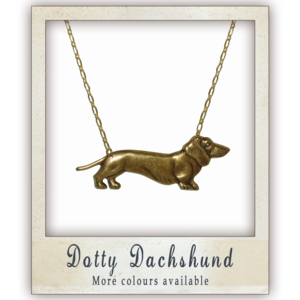 Image of Dotty Dachshund - More colours available