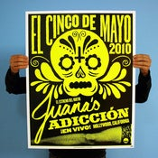Image of Jane's Addiction Cinco de Mayo Show Poster