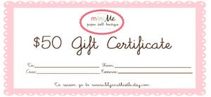 Image of Gift Ceritifcate 50 USD