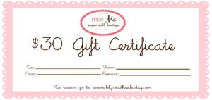 Image of Gift Certificate - 30 USD