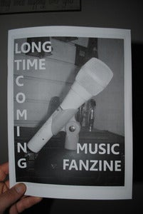 Image of Long Time Coming Music Fanzine issue #2