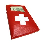 Image of Swiss ) Mini Card Wallet 