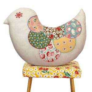 Image of Hello Birdie Pillow Pattern