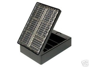 Modern Local  Solar AA Battery Recharger