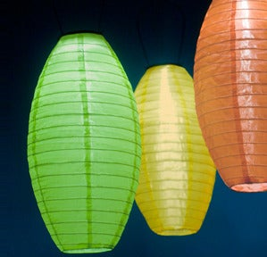 Modern Local  Solar Pod Lanterns :  lights lime pod wild