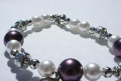 Image of Tiara Pearls - Purple